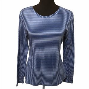 Brooks Brothers striped long sleeve shirt small